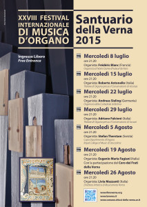 Locandina Concerti d'Organo 2015 - 2